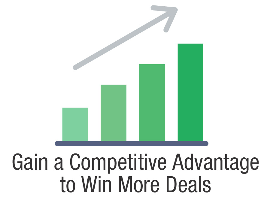 Gaining a Competitive Advantage to Win More Deals
