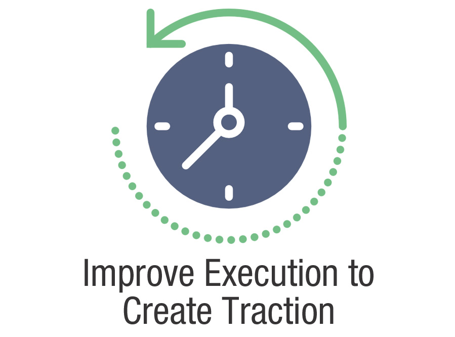 Improve Execution to Create Traction