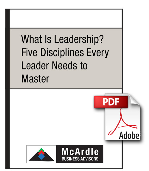McArdle Business Advisors Leadership Article